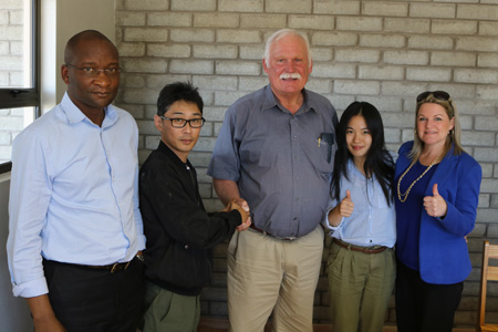 We have signed an agreement with Teff dealers for exclusive sale in Asia.