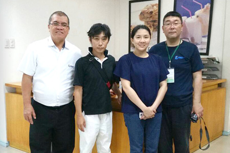 Our Japanese Staff will steadily communicate with the producer staff, and both cherish the relation.